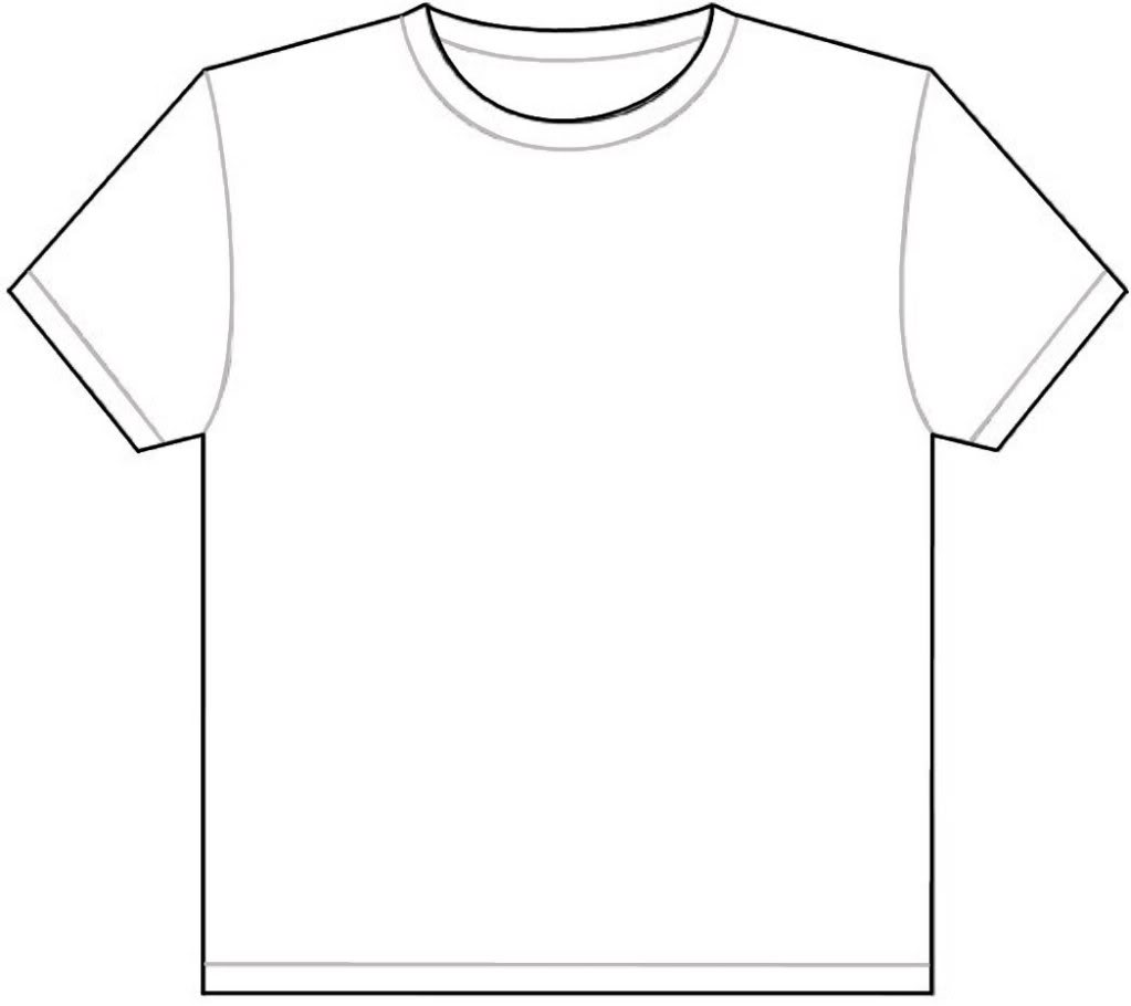 T Shirt Blank Template Joy Studio Design Gallery Best